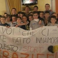 ESORDIENTI 2003: TRIONFO IN CAMPIONATO!!!!